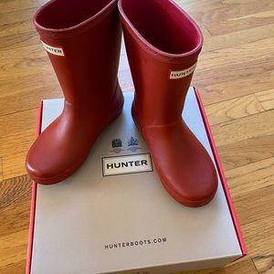 Little Girl Hunter Rain Boots
